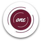 icon that says 'one'