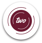 icon that says 'two'