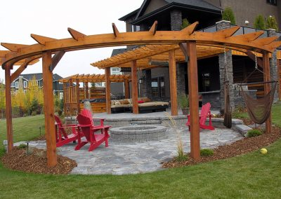 backyard design garden design courtyard wooden pergola