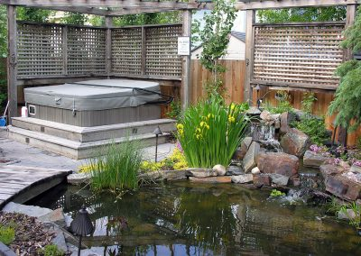 backyard garden design outdoor space outdoor oasis backyard idea water pond