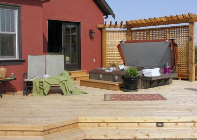 deck backyard design