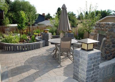 calgary designer backyard garden design outdoor space outdoor oasis backyard idea
