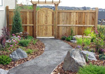 backyard garden design outdoor space outdoor oasis backyard idea calgary court yard privacy screen