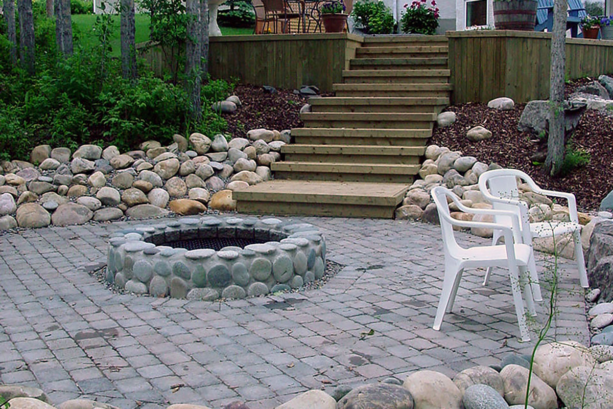 Outdoor Fireplaces Heat Up The Night Ananda Landscapes
